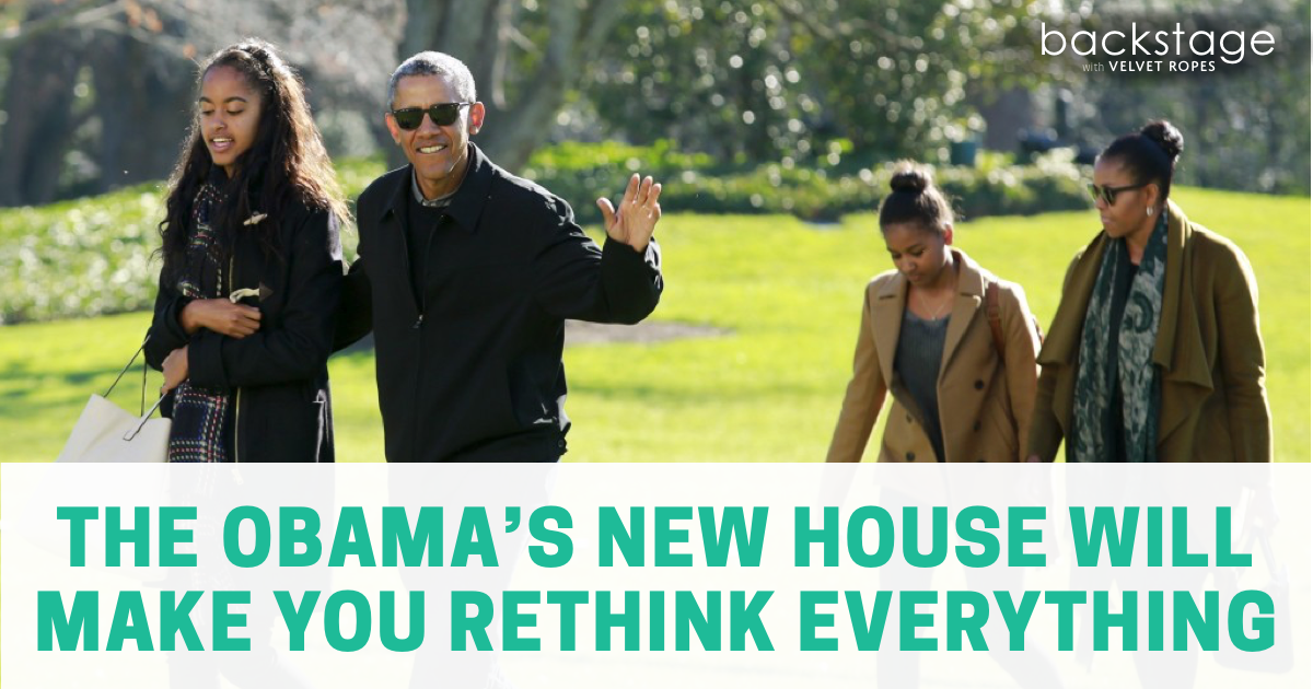 the obamas new house