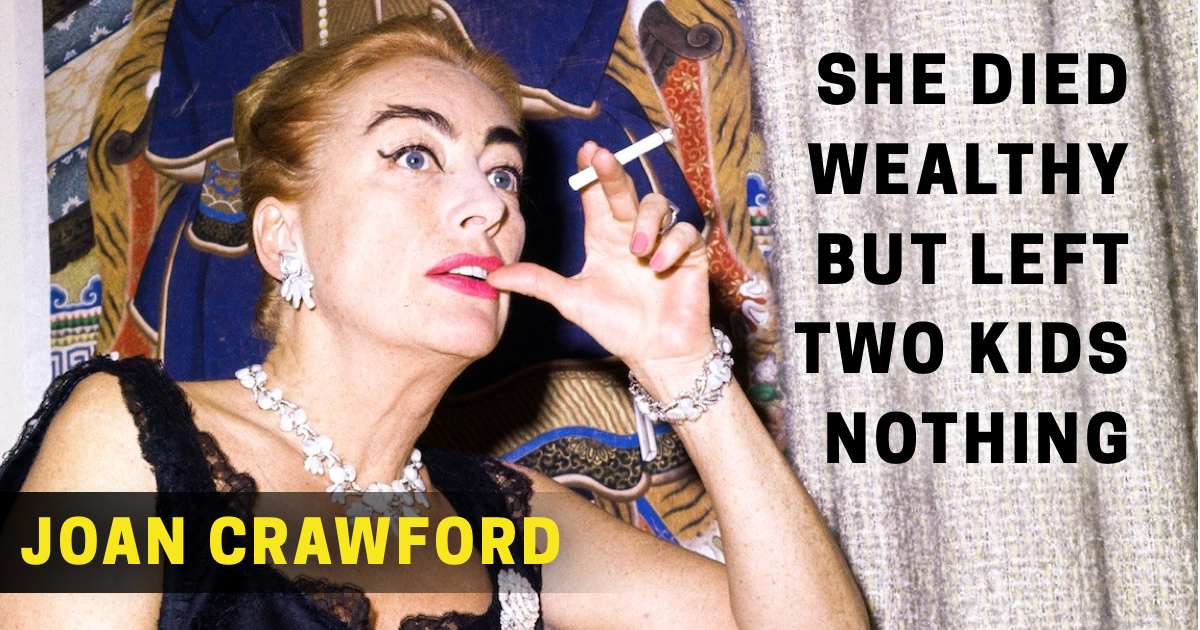 Joan Crawford's Net Worth and Life