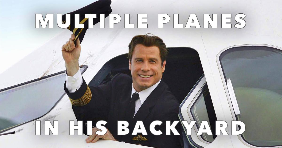John Travolta Plane Obsession