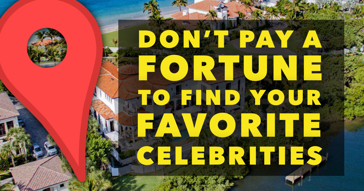 Celebrity Addresses: Where to Find Them