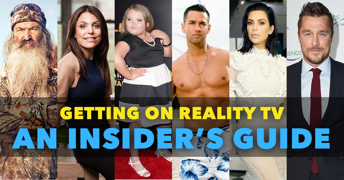 How To Get A Reality Show - An Insider's Guide