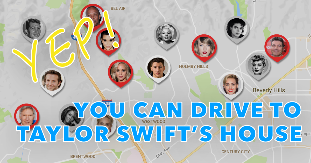 Celebrity Homes Map: This Is What You're Doing Wrong