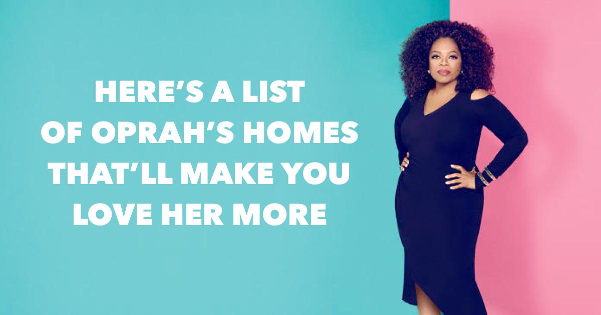 Oprah Winfrey House Photos