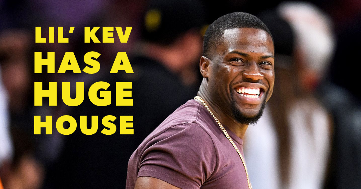 Where Does Kevin Hart Live: The Photos are Epic!