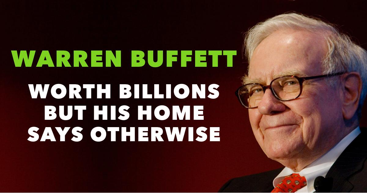Warren Buffett House Featured