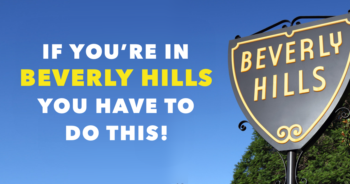 Beverly Hills Celebrity Homes Self Tour Featured