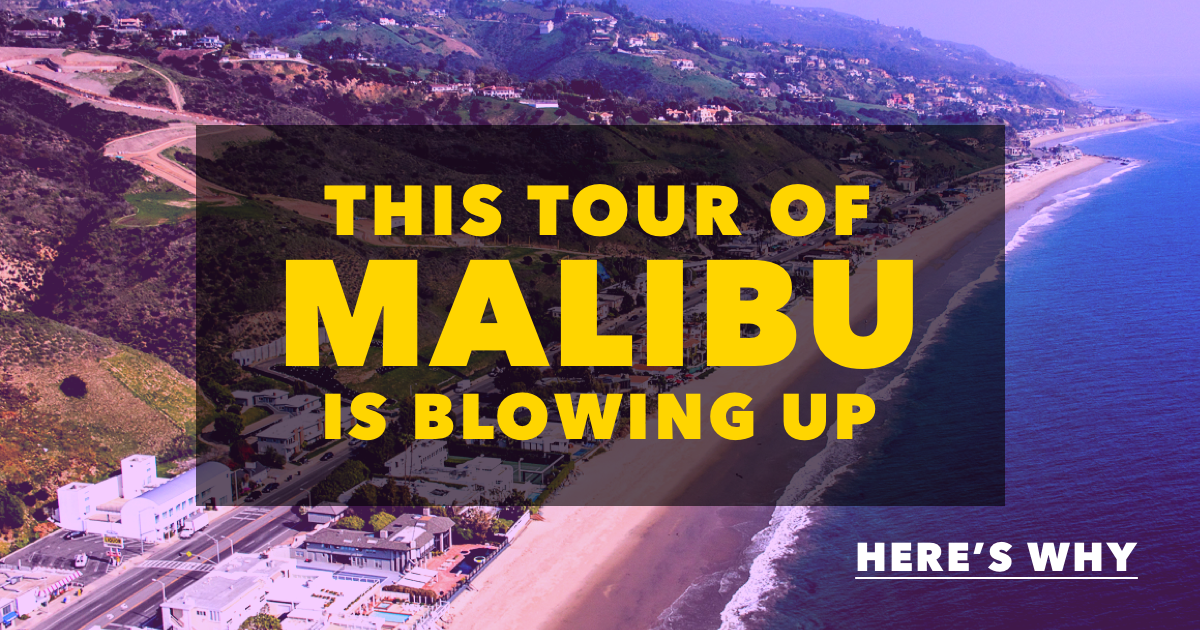 Malibu Celebrity Homes Tour Featured