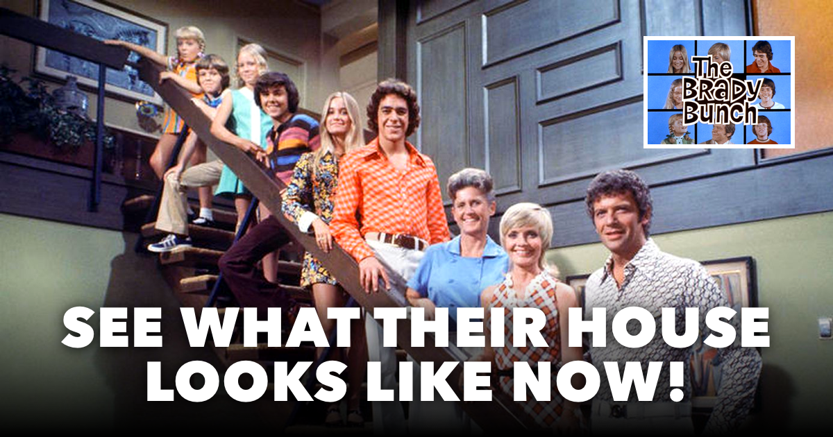 Brady Bunch House and Family