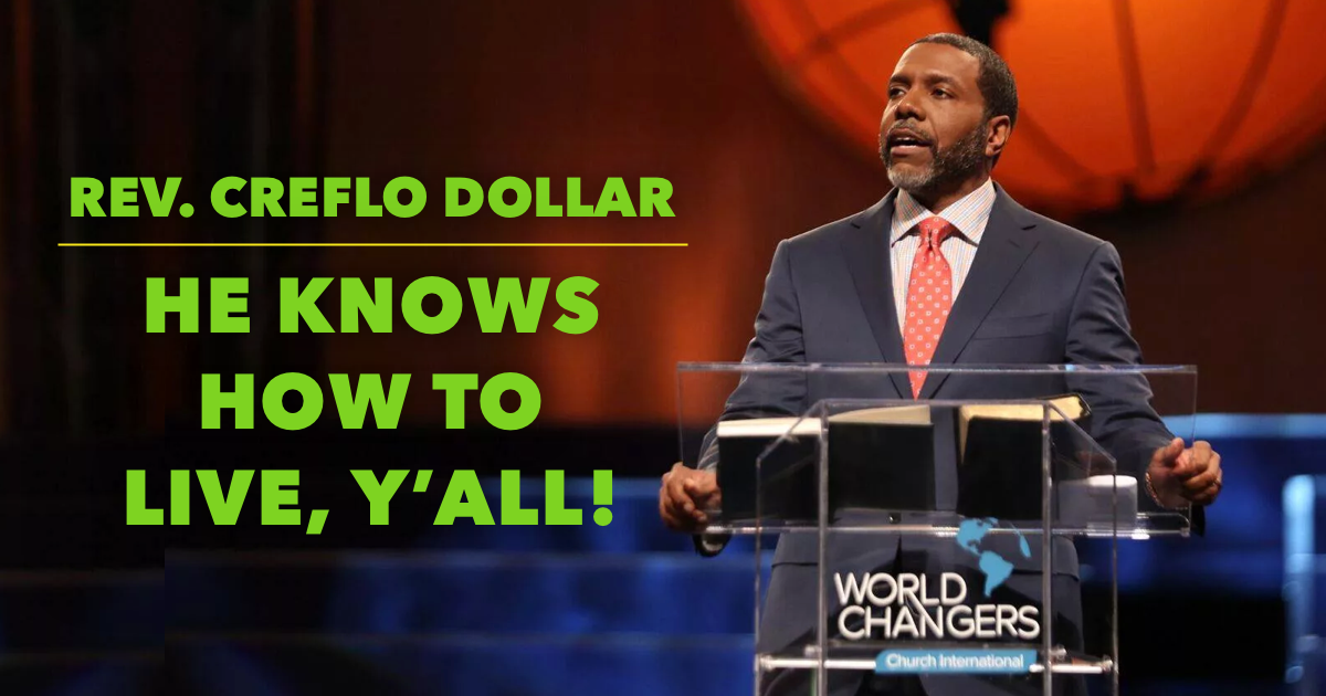 Creflo Dollar House Atlanta