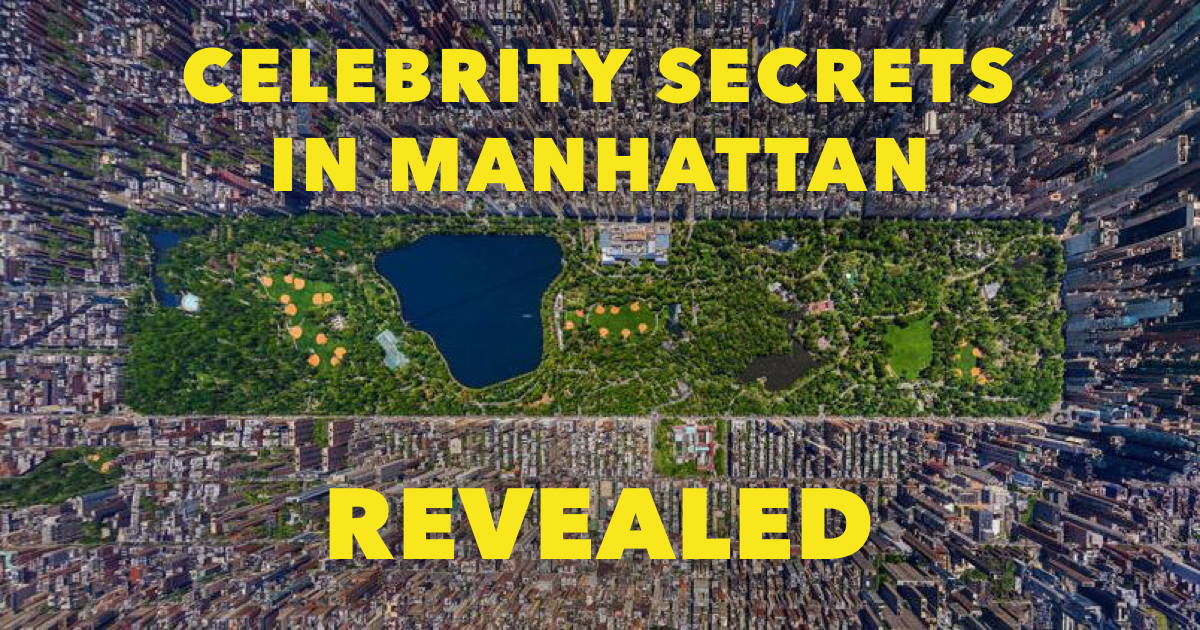 Manhattan Celebrity Map Featured