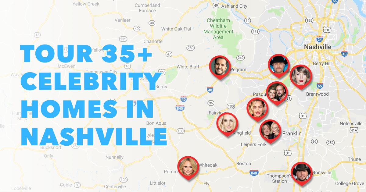 Celebrity Homes in Nashville Featured 2
