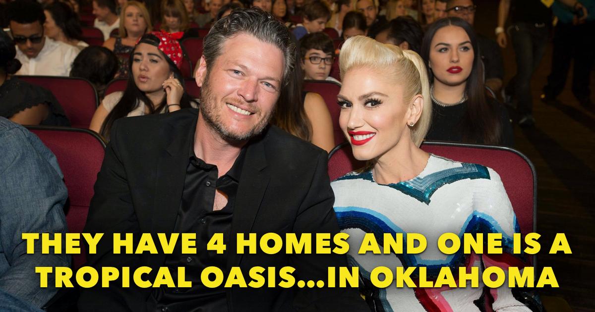 Blake Shelton and Gwen Stefani House Featured
