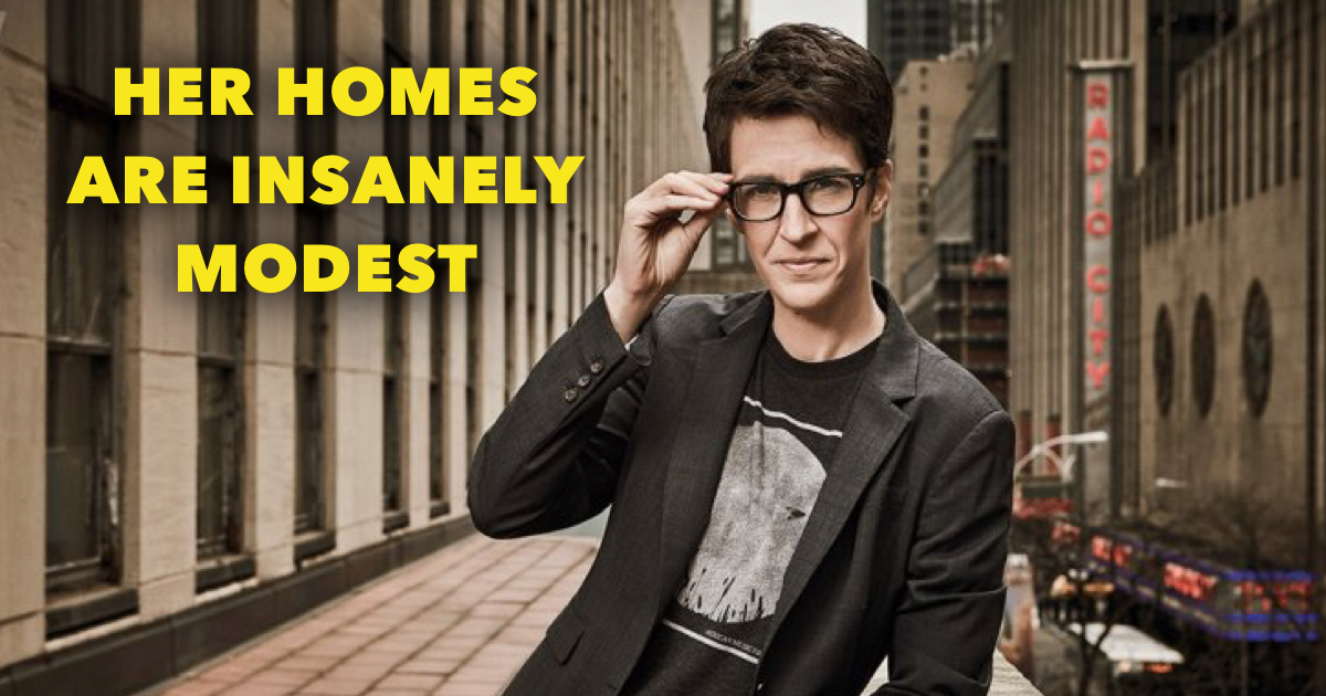 Where does Rachel Maddow live?