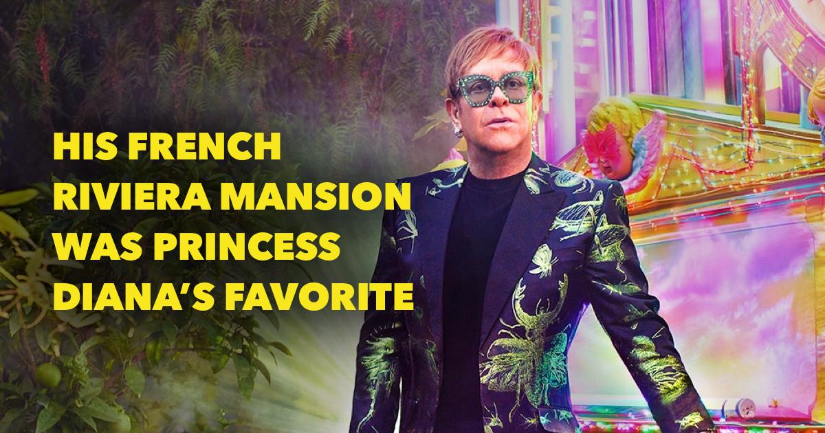 Where does Elton John live?