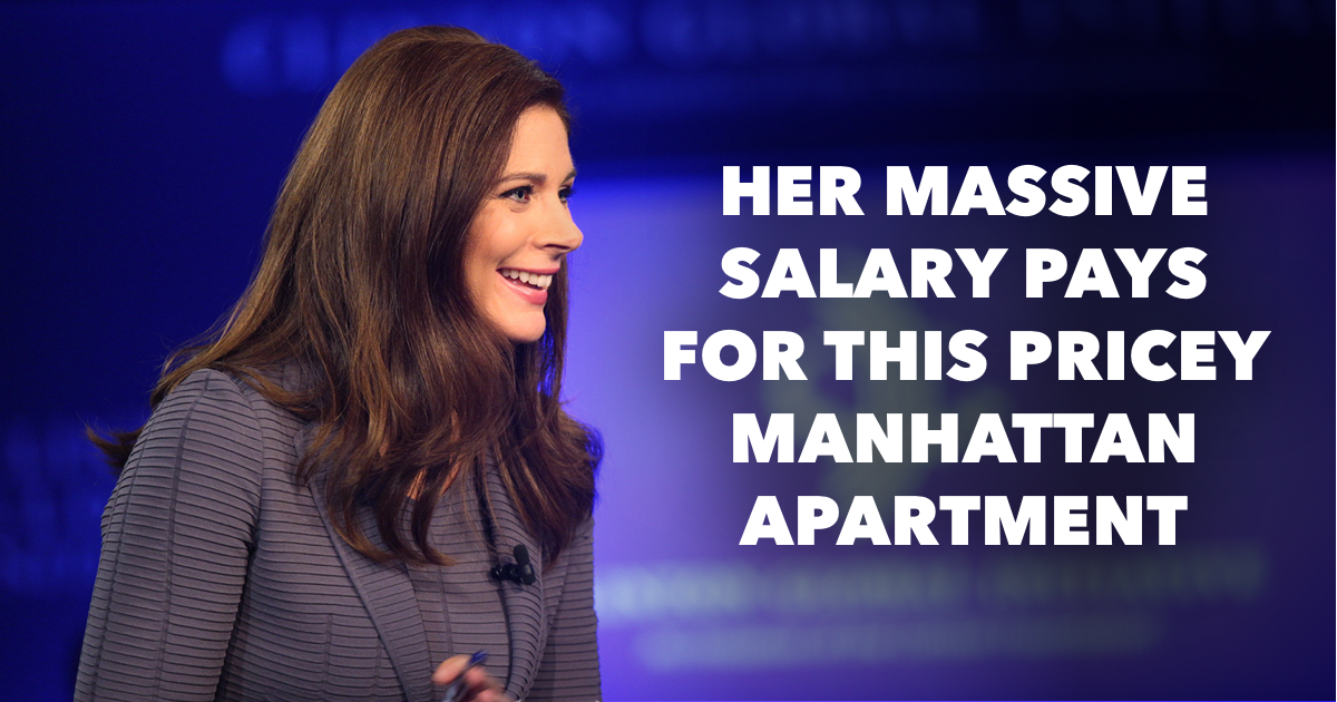 Where does Erin Burnett live?