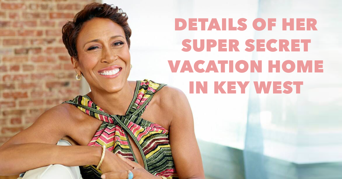 Where does Robin Roberts live?
