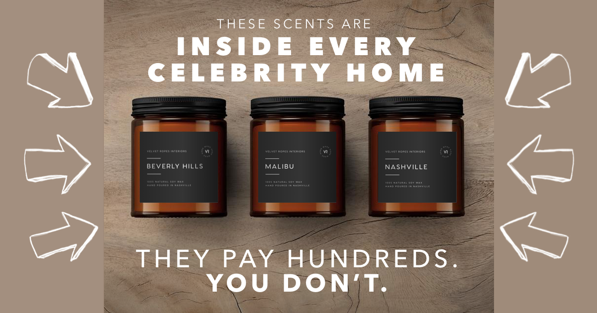 Celebrity Candles That Snell Like Cities