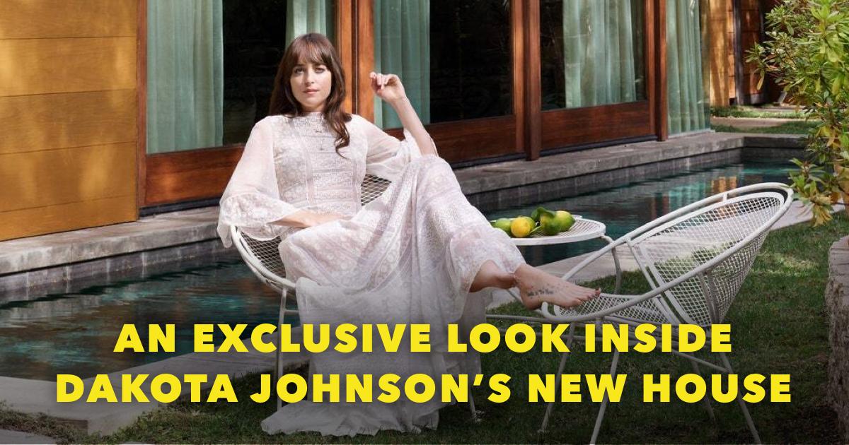 Where does Dakota Johnson live?