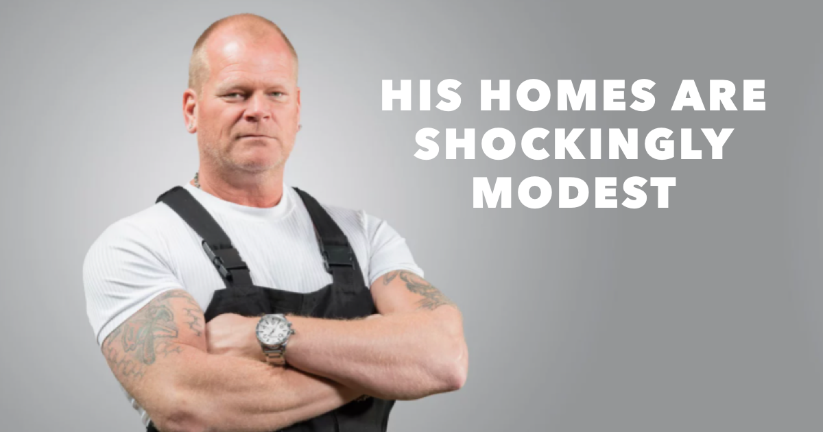 Where does Mike Holmes live?