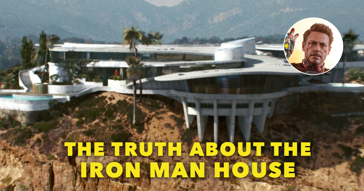 Iron Man House